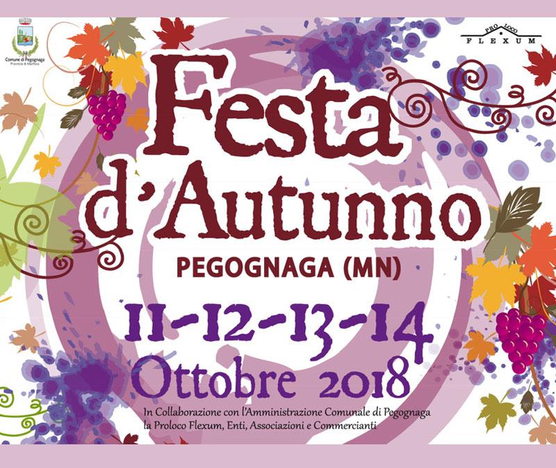 Festa d'Autunno a Pegognaga con Seminala e Sherpa Viaggi