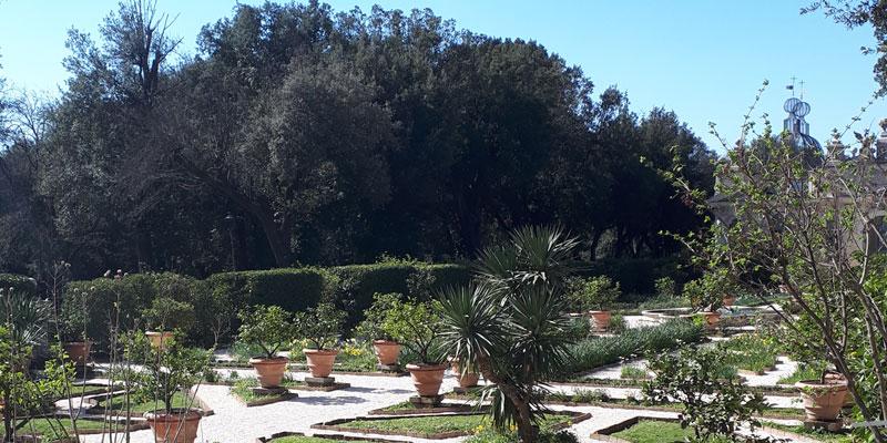 Giardini-di Villa Borghese, Seminala
