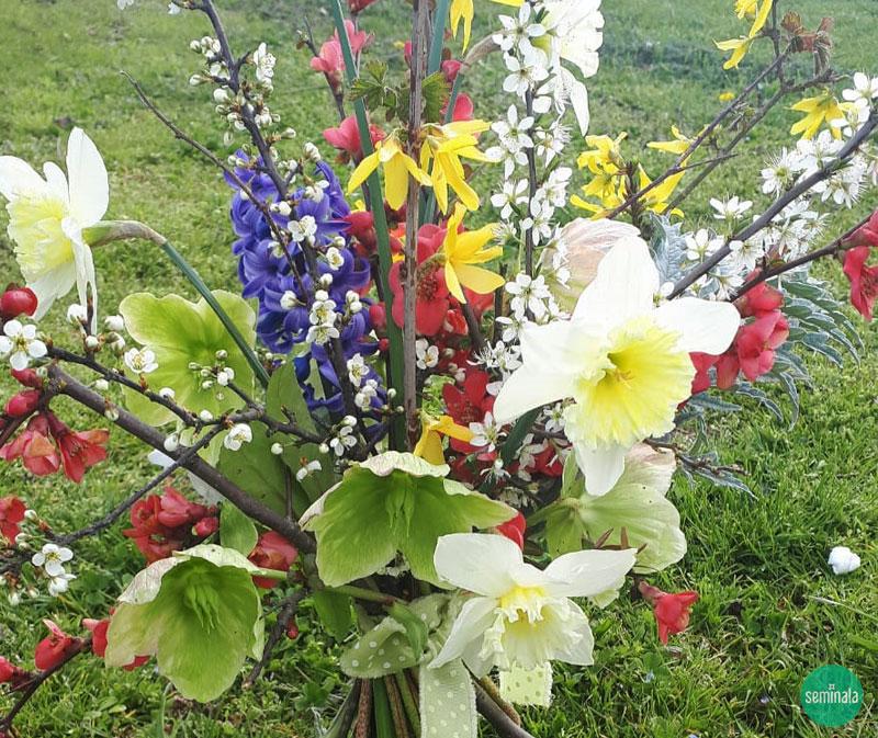 Primavera, mazzo di fiori - Seminala