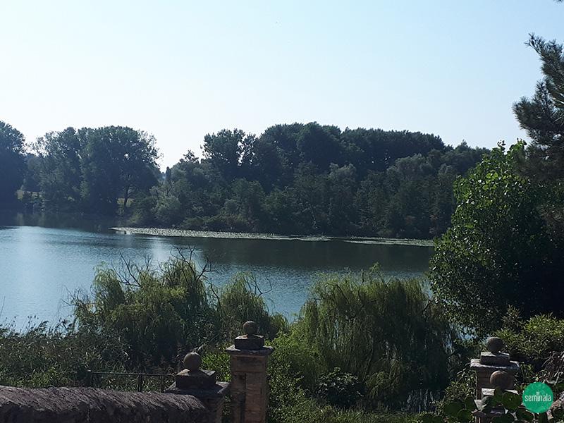 Castellaro Lagusello, lago a forma di cuore